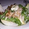 Hot Goat Cheese and Wild Mushroom Salad