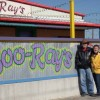 Don and Jo in front of Boo-Ray's