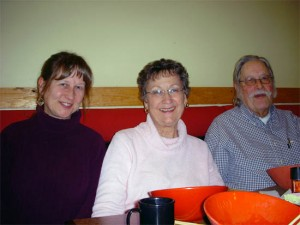 Your Gastronomes, Donna, Jo and Don