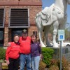 Jo, Don and Donna in front of P.F. Chang's - Grapevine